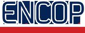 Logo Encop Engenharia Construções e Pavimentações.