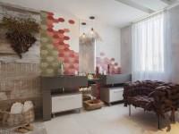 Consagrados nos revestimentos, hexágonos aparecem também em móveis e objetos