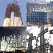 Construtora chinesa ergue arranha-céu de 57 andares em 19 dias