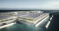 Arquitetos projetam fazendas flutuantes com o objetivo de produzir toneladas de alimentos